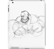 Zangief Portrait iPad Case/Skin