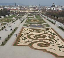 Belvedere Garden, Austria by Kymbo