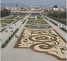 Belvedere Garden, Austria Photographic Print