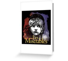 Les Miserables 2012 Greeting Card