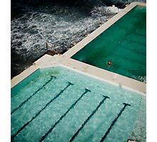 icebergs Photographic Print