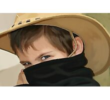 Zorro Junior Painted... Photographic Print