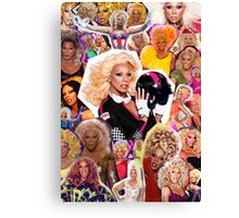 Cover Gurl Canvas Print