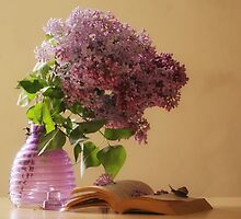 Sweet lilac blossoms by Delphine Devos