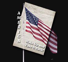 America, Take It Back (white text) Unisex T-Shirt
