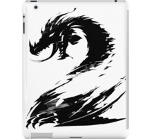 Dragon GW2 Black iPad Case/Skin