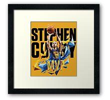 Stephen Curry | 2015 NBA MVP Framed Print
