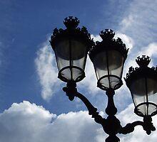 Paris Lanterns by Anne Frizell