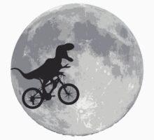 T-rex riding a bike One Piece - Short Sleeve