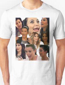 Kimmy K Crying Collage Unisex T-Shirt