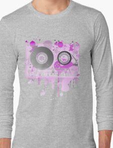 Cassette Series Nr. 3 - Purple Madness Long Sleeve T-Shirt
