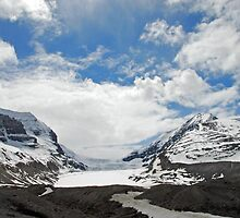 Athabasca Glacier by Dyle Warren