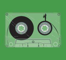 Cassette Series Nr. 2 - Saxophone man One Piece - Short Sleeve