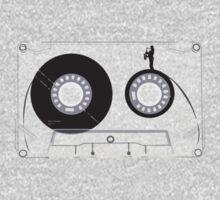 Cassette Series Nr. 2 - Saxophone man Kids Tee