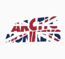 Arctic monkeys UK Kids Tee