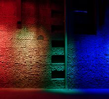 Red and the Blue by Mark  Hodges