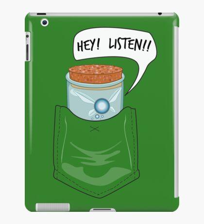 Hey! Listen! Pocket Navi iPad Case/Skin