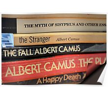 The Pages of Camus Poster