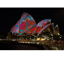Light Art - Vivid Sydney 2009 Photographic Print