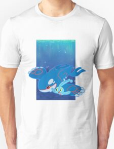 Kyogre and Manaphy T-Shirt