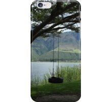 Tire Swing on a Tree iPhone Case/Skin