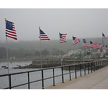 Gloucester Flags Photographic Print