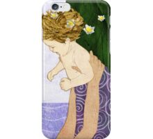 Narcissus newborn iPhone Case/Skin