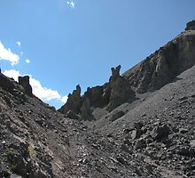 North Side of Coreys Pass with Monoliths by MichaelWilliams
