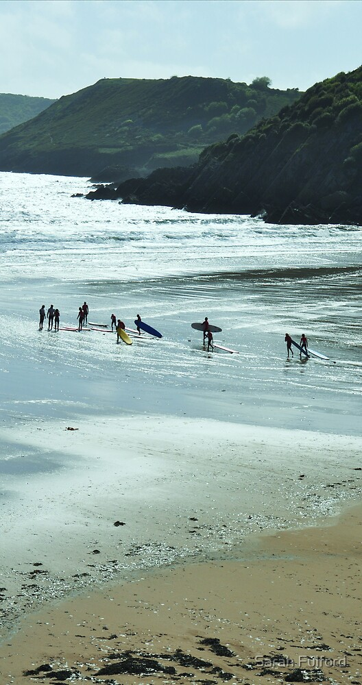 Surfers by Sarah Fulford