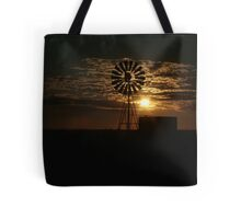 Free State Sunset At The Mill... South Africa Tote Bag