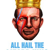 All Hail The Lizard King - Ziggy Stardust Variant by AbbottChronicle