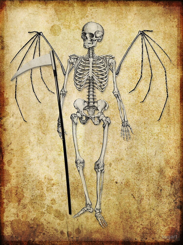Angel of death... by buyart