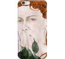Echo the Silent Nymph iPhone Case/Skin