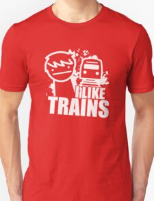 Iliketrains I like trains T-Shirt