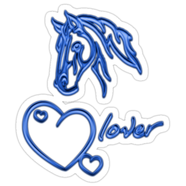"""""""Horselover""""- blue edit by scatharis"""