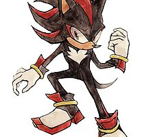 Shadow the Hedgehog by arumise