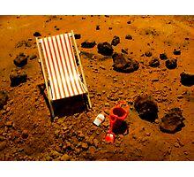Beach on Mars Photographic Print