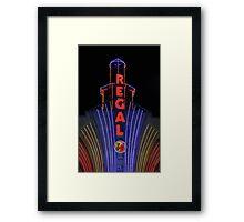 Movies Framed Print