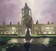 Christ Church, Oxford by EternaLetizia