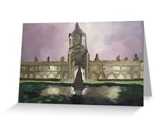 Christ Church, Oxford Greeting Card