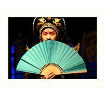Sichuan  Opera, China Art Print
