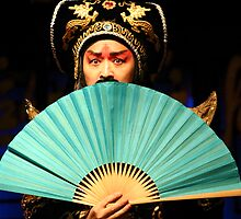 Sichuan  Opera, China by Keith Molloy