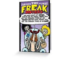 Fabulous Furry Freak Brothers Dope Quote Greeting Card