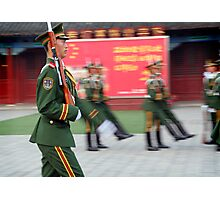 Red Army, Beijing, China Photographic Print
