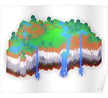 Minecraft Theme Poster