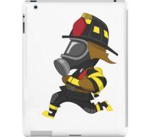 Firefighter hurry. iPad Case/Skin