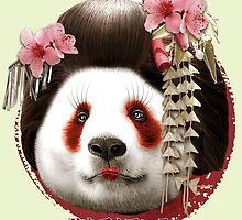 GEISHA PANDA by MEDIACORPSE