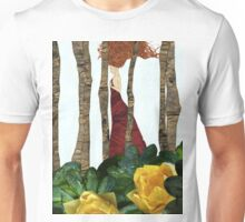 Nimph in the woods Unisex T-Shirt