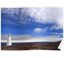 Big Sky Lighthouse Poster