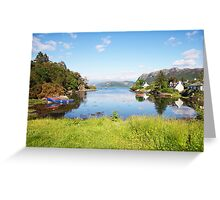 Plockton Bay Greeting Card